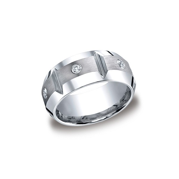 Forge Cobalt 10mm Diamond Band