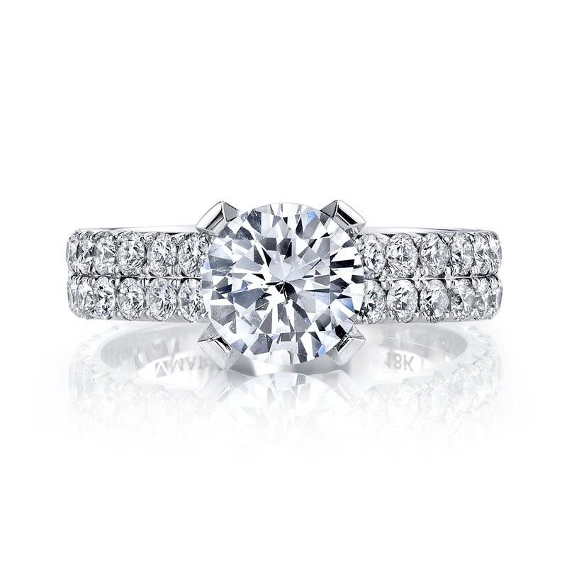 MARS R246 Diamond Engagement Ring, 1.28 Ctw.