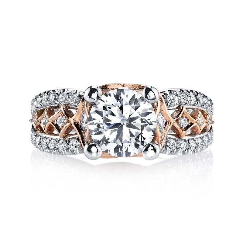 MARS R254WR Diamond Engagement Ring, 0.70 Ctw.