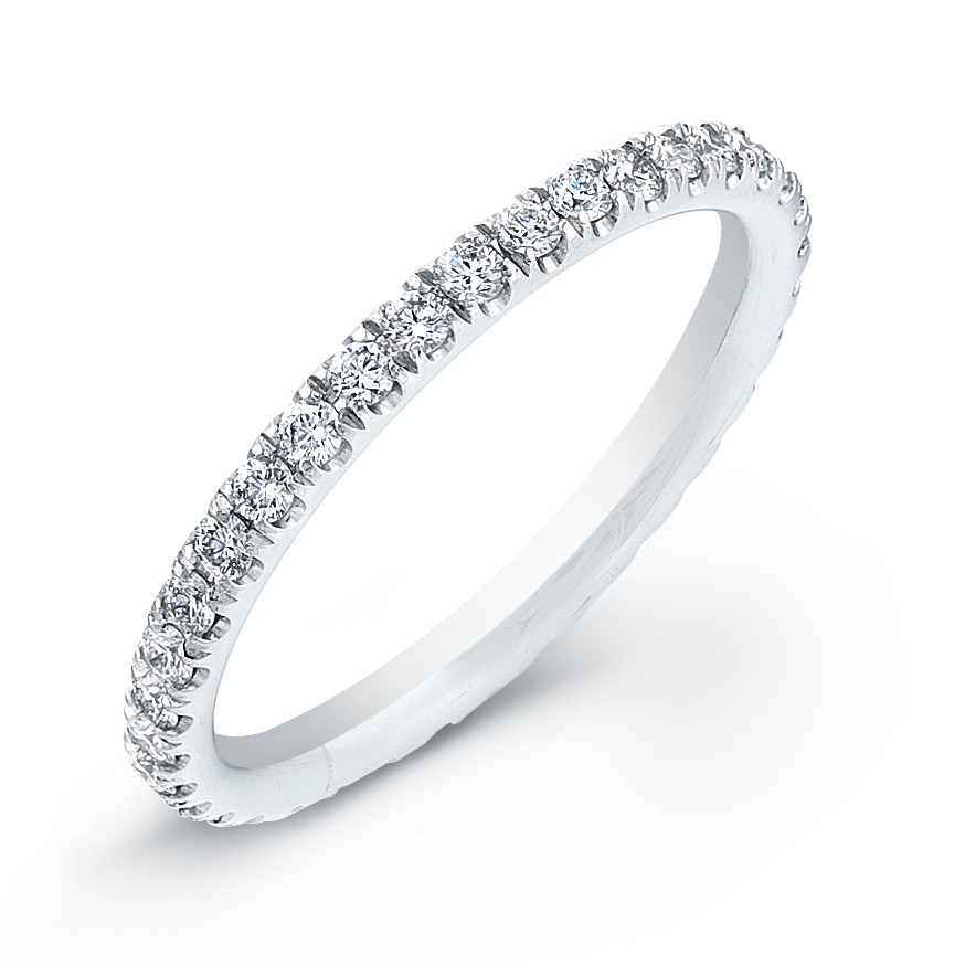 bands strand stone diamond micro ring pave products three banns row band and onbody