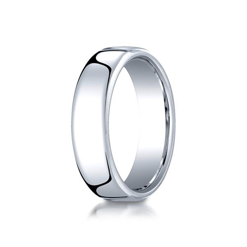 Benchmark 6.5mm Classic Round Comfort-Fit Cobalt Chrome Ring