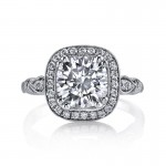 MARS 14664 Diamond Engagement Ring 0.24 Ctw.