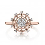 MARS Fashion Ring, 0.22 Ctw.