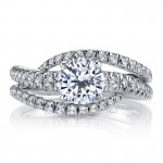 MARS 25532 Diamond Engagement Ring 0.60 Ctw.