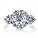 Diamond Engagement Ring 0.20 ct tw