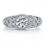 MARS Diamond Engagement Ring 0.46 Ctw.