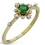18K GOLD YELLOW LR2250-Y COLOR RING