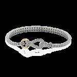 18K GOLD WHITE MB1721-Y BRACELET