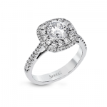 18K GOLD WHITE MR2827-A ENGAGEMENT RING