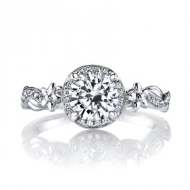 Diamond Engagement Ring 0.10 ct tw