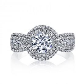 MARS 25108 Diamond Engagement Ring 0.76 Ctw.