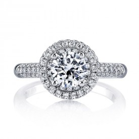 MARS Diamond Engagament Ring 0.79 Ctw.