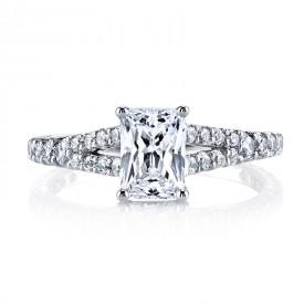 MARS 25139 Diamond Engagement Ring 0.57 Ctw.
