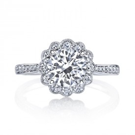 MARS 25329 Diamond Engagement Ring 0.60 Ctw.