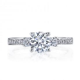 MARS 25352 Diamond Engagement Ring 0.38 Ctw.
