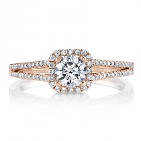 MARS 25355 Diamond Engagement Ring 0.25 Ctw.