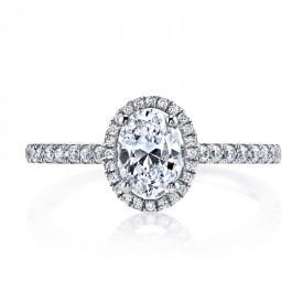 MARS 25377 Diamond Engagement Ring 0.20 Ctw.
