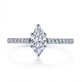 MARS 25451 Diamond Engagement Ring 0.28 Ctw.