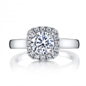 MARS 25517 Diamond Engagement Ring 0.24 Ctw.