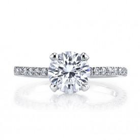 MARS 25527 Diamond Engagement Ring 0.32 Ctw.