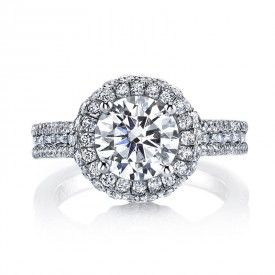 MARS Diamond Engagement Ring 1.43 Ctw.