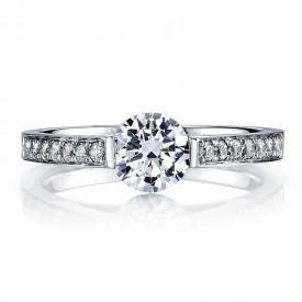 MARS 25721 Diamond Engagement Ring 0.20 Ctw.