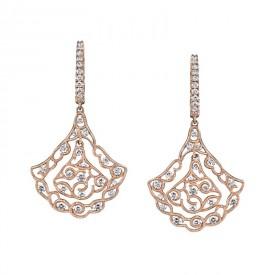 MARS Diamond Drop Earrings 1.17 ctw