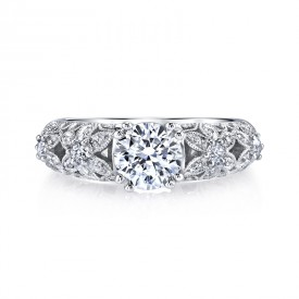 MARS 25772 Diamond Engagement Ring 0.28 Ctw.