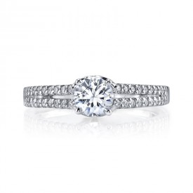 MARS 25813 Diamond Engagement Ring 0.25 Ctw.