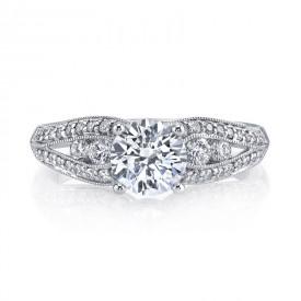 MARS 25832 Diamond Engagement Ring 0.49 Ctw.