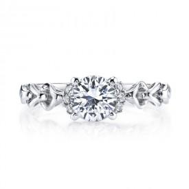 MARS 25847 Diamond Engagement Ring 0.12 Ctw.