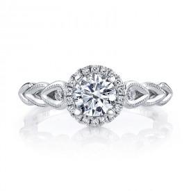 MARS 25855 Diamond Engagement Ring 0.14 Ctw.