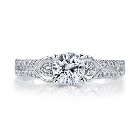 MARS 25858 Diamond Engagement Ring 0.29 Ctw.