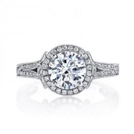 MARS Diamond Engagement Ring 0.60 Ctw