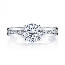 MARS 25971 Diamond Engagement Ring 0.60 Ctw.