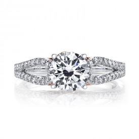 MARS 25993 Diamond Engagement Ring, 0.34 Ctw.