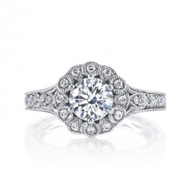 MARS 26006 Diamond Engagement Ring, 0.57 Ctw.