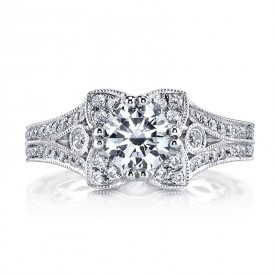 MARS 26012 Diamond Engagement Ring 0.50 Ctw.
