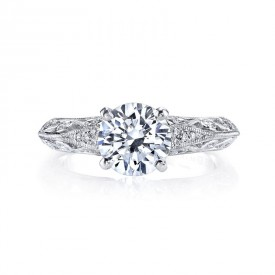 MARS 26026 Diamond Engagement Ring, 0.12 Ctw.