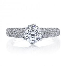 MARS 26062 Diamond Engagement Ring, 0.23 Ctw.