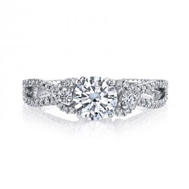 MARS 26088 Diamond Engagement Ring, 0.55 Ctw.
