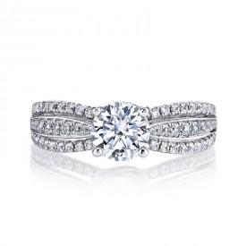 MARS 26099 Diamond Engagement Ring, 0.44 Ctw.