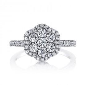 MARS 26145 Diamond Engagement Ring, 0.94 Ctw.