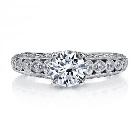 MARS 26176 Diamond Engagement Ring 0.62 Ctw.