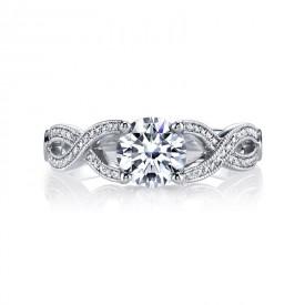 MARS Diamond Engagement Ring 0.17 Ctw.