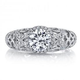 MARS 26258 Diamond Engagement Ring 0.46 Ctw.