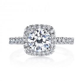 MARS 26467 Diamond Engagement Ring 0.57 Ctw.