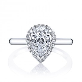 MARS 26499 Diamond Engagement Ring 0.11 Ctw.