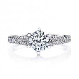 MARS 26532 Diamond Engagement Ring 0.24 Ctw.