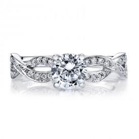 MARS 26534 Diamond Engagement Ring 0.23 Ctw.